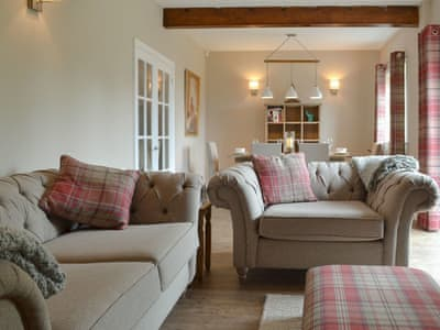 Attractive living/ dining room | Steadings, Westward, near Wigton
