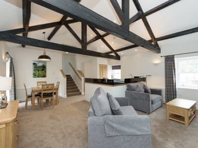 Impressive open-plan living space | Netherby Hall - Engineer - Netherby Hall , Longtown