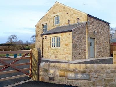 Lovely detatched converted Shippon | Five Barred Gate Barn, Whitechapel, near Goosnargh