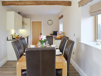 Well equipped kitchen/ dining area | Holgate's Granary, Pendleton, near Clitheroe