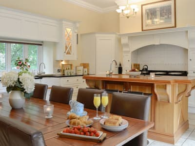 Stunning kitchen/ dining room that is central hub of this house | The Coach House, Keswick