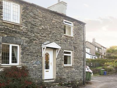 Front elevation of holiday home | Fell Cottage, Backbarrow near Ulverston