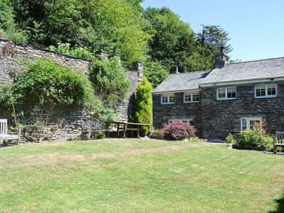 Lovely holiday cottage nestling in a traditional Lakeland village | West Cinder Hill, Finsthwaite, near Ulverston