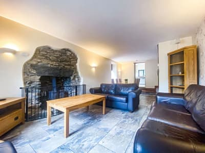 Tastefully furnished living/dining room | Woodside Cottage, Backbarrow, near Ulverston