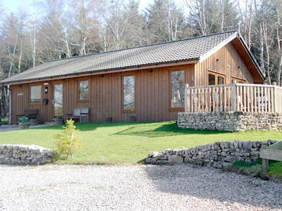 Lovely detached timber lodge | Larchwood, Dukes Meadow, near Greystoke