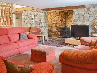 Living room | The Barn, Corney, nr. Bootle