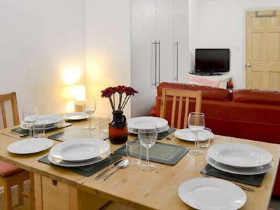 Cosy open plan living space | Ground Floor Apartment - Arcobaleno, Sway, near Lymington