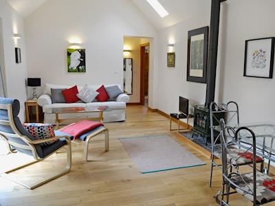 Luxurious Living room/dining room with cosy woodburner | Farthingales - The Stables, Nonington, nr. Dover