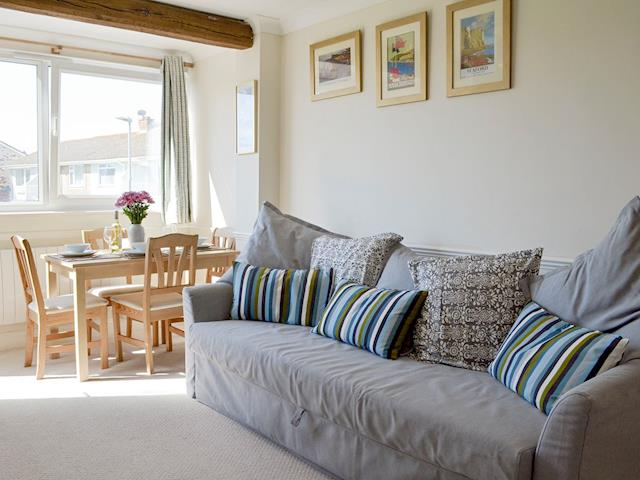 Comfy seating in living room | Sea Breeze, Seaford, near Eastbourne