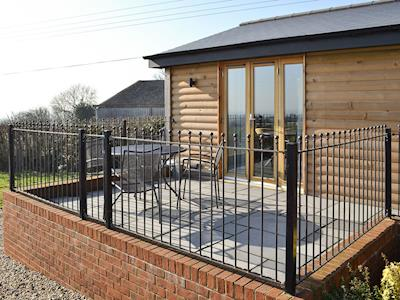 Sitting out space | Pheasant Cabin - The Knowles, Ulcombe, near Maidstone