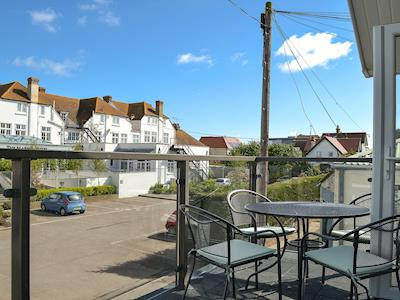 Balcony with wonderful views | Mariners Cottage, Whitstable
