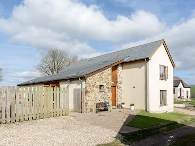 Exterior with outdoor seating | Buckland Barn, Buckland Brewer, near Bideford