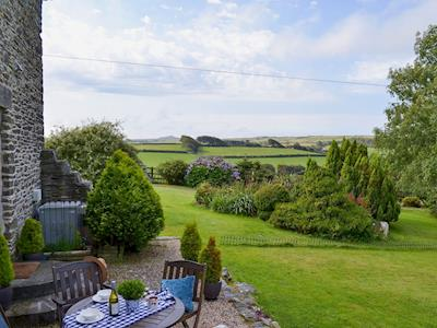 Wonderful views from the garden | Brightwell Barn, St Clether, near Launceston
