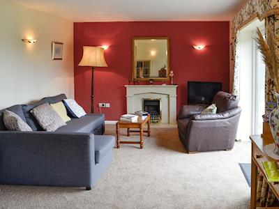 Cosy living room | Whitegate View, Forton, near Chard