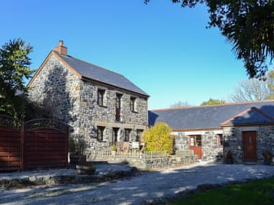 Substantial stone built cottage and neighbouring property, 'The Bull Pen' | The Hayloft - Treal Farm, Ruan Minor, near Helston