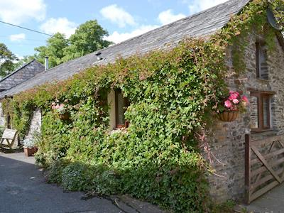 Lovely ivy covered holiday property | St Leonards, Polson, nr. Launceston, | St Leonards - Demelza, Polson, Launceston