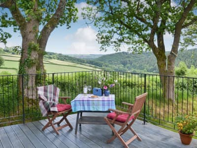 Sitting out area with great views | The Platt, Rezare, near Launceston