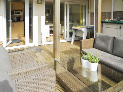 Sitting-out-area | Whitsand Bay, Downderry
