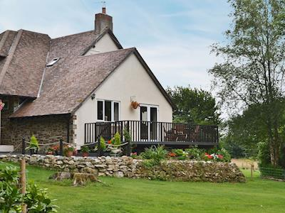 Exterior with large garden | Oak Lodge, Lerryn, near Lostwithiel