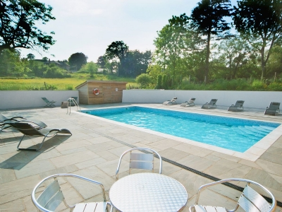 Swimming pool | Blagdon House Country Cottages - Bramble Cottage, Blagdon, nr. Paignton