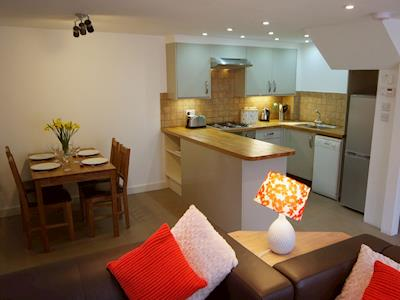 Open plan living space | Oak Cottage - Blagdon House Country Cottages, Blagdon, near Paignton
