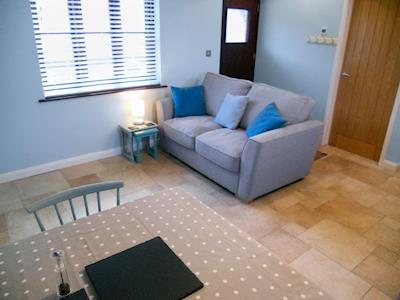 Cosy living area | The Old Piggery - Longmeadow Farm, Shaldon, near Teignmouth
