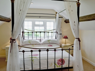 Four Poster bedroom | Compton , Sherborne