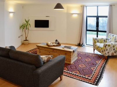 Living room | Linhay Apartment, St Austell