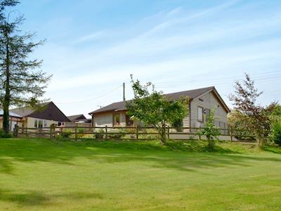 Wonderful holiday home set in rolling countryside | Challette at Timbertops, Washfield, near Tiverton