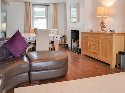 Comfortable and cosy living/dining room | Seaside Shenanigans, Babbacombe, near Torquay