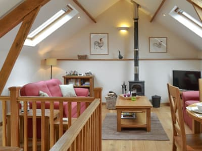 Delightful living/ dining room | Moorparks Barn - Moorpark, Beaford, near Torrington