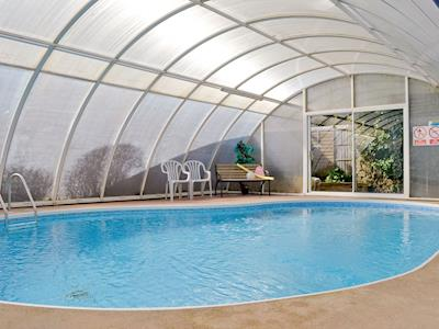 Shared indoor pool | Croft Cottages, Watchet
