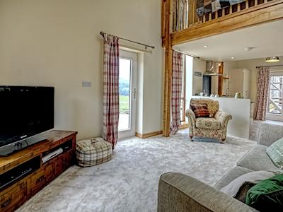 Spacious lounge area | Valley View, Beck Hole, near Goathland
