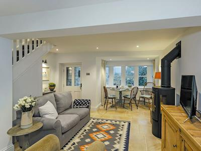 Beautifully decorated open plan living space | 3 Healey Cottage, Shelley, near Huddersfield