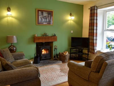 Open plan living/dining room/kitchen | Coach House Cottage, Buckden, Grassington