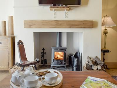 Warm and welcoming living area | Kissing Tree Cottage, Middleton Tyas, near Richmond