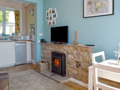 Charming open plan living space | Crown Courtyard Cottage, Grewelthorpe, near Masham