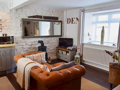 Beautifully decorated open plan living space | The Den, High Hawsker, near Whitby