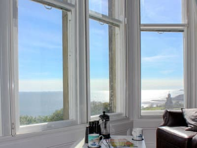 Stunning sea views from the living room | Sea Vistas, Scarborough