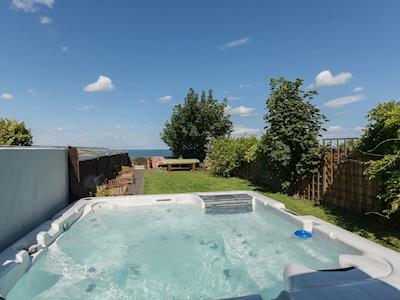 Hot tub | Twin Bays House, Scarborough
