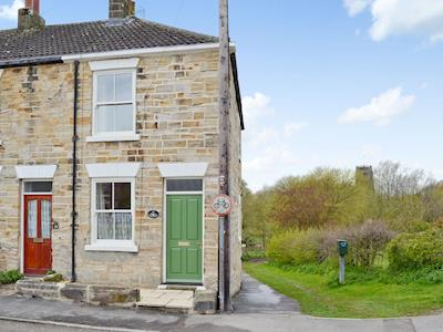 This charming holiday home overlooks the quaint village green and is a short walk from the river | Beck Cottage, Thirsk